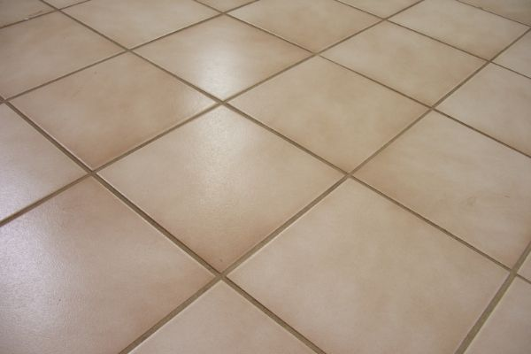 The process of having your tiles professionally cleaned begins with STAT